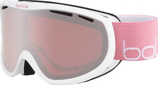 Sierra Shiny White & Pink Vermillion