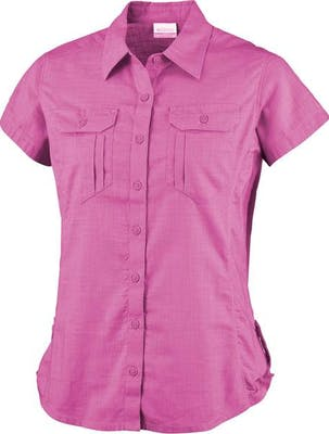 Camp Henry Solid Short Sleeve Shirt Women