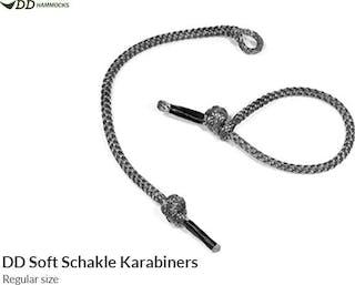 Soft Shackle Karabiner x2