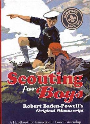 Scouting for Boys manuscript