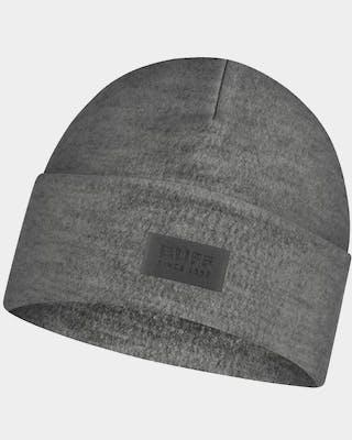 Merino Wool Fleece Hat Grey