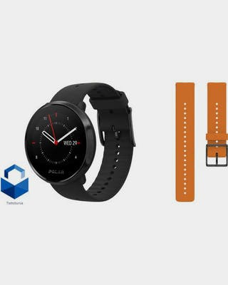 Ignite Black + Orange Strap