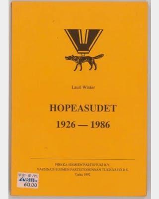 Hopeasudet 1926-1986