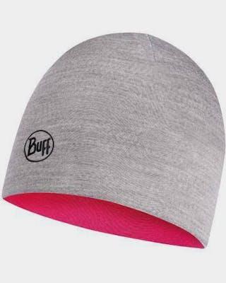 Lightweight Merino Jr Reversible Hat Wild Pink