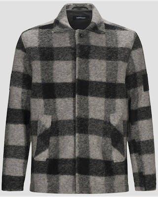 Wool Shirt Square Men