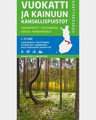 Vuokatti and the national parks in Kainuu