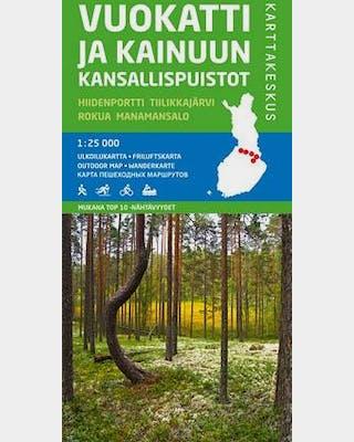 Vuokatti and the national parks in Kainuu