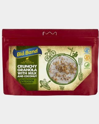 Crunchy Granola with Milk and Coconut
