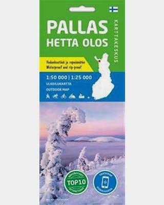 Pallas Hetta Olos Ulkoilukartta