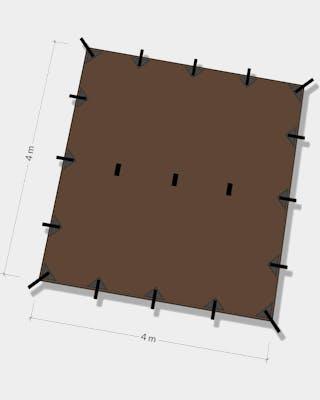 Tarp 4x4