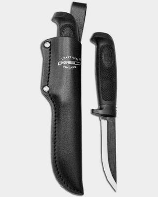 Carpenter with leather sheath