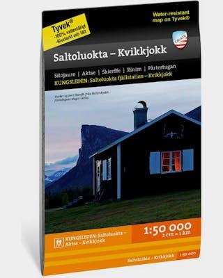 Saltoluokta - Kvikkjokk Tyvek