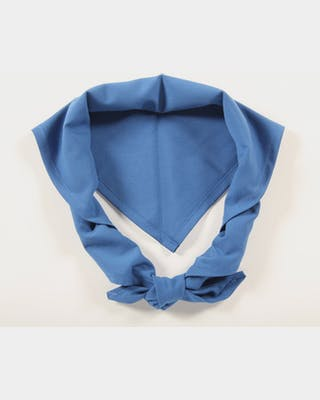 Partiohuivi, sininen