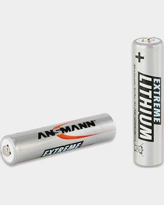 AAA Lithium x 2