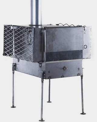 Tent stove for Sauna (incl. rock holders)