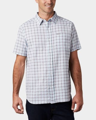 Men's Brentyn Trail Short Sleeve Seersucker Shirt
