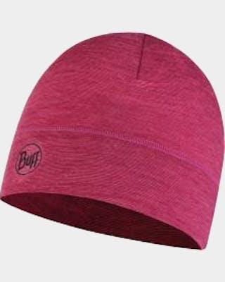 LW Merino Hat Purple Multi
