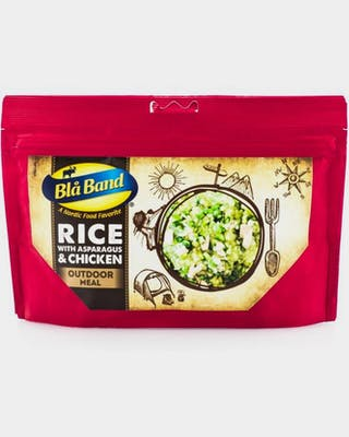 Asparagus and chicken risotto