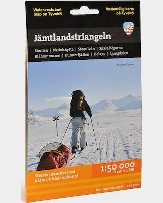 Jämtlandstriangeln Fjällkarta Tyvek