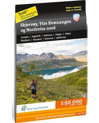 Skerjvøy, Ytre Kvaernangen og Nordreisa nord Tyvek