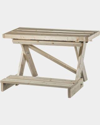 Hiisi sauna bench