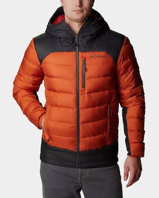Men's Autumn Park Down Hooded Jacket