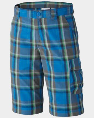 Silver Ridge III Boys Plaid Short