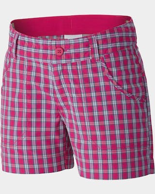 Silver Ridge III Girls Plaid Short