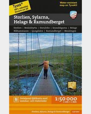 Storlien Sylarna Helags Ramundberget 1:50.000
