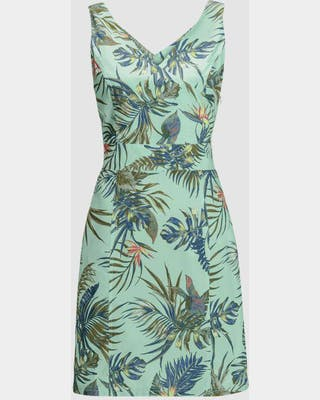 Wahia Tropical Dress