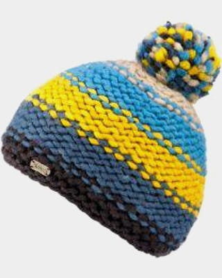 Reverse Knit bobble Hat