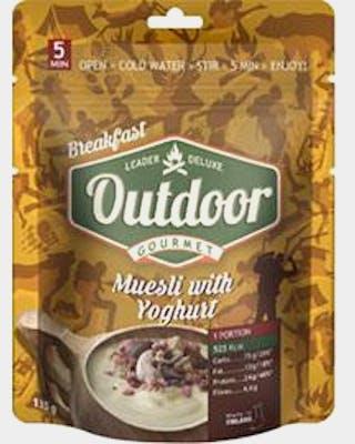 Outdoor Muesli With Yoghurt