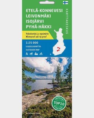 Etelä-Konnevesi Leivonmäki Isojärvi Pyhä-Häkki