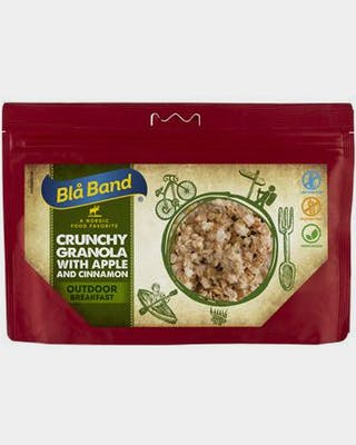 Crunchy Granola With Apple And Cinnamon