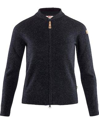 Övik Re-wool Zip Jacket W
