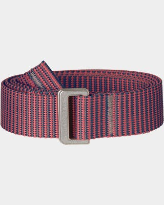 Striped Webbing Belt Women's