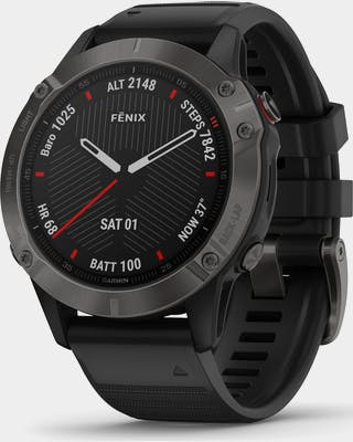 Fenix 6 Sapphire Black