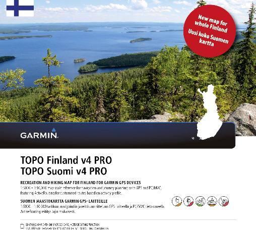 Garmin Topo Suomi Pro V4 Whole Finland