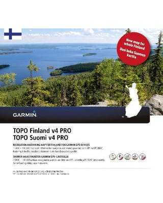 Topo Suomi Pro V4 kartta koko Suomi