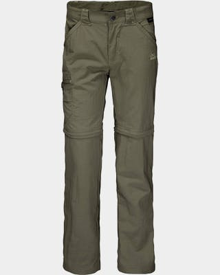 Kids Safari Zip Off Pants Kids