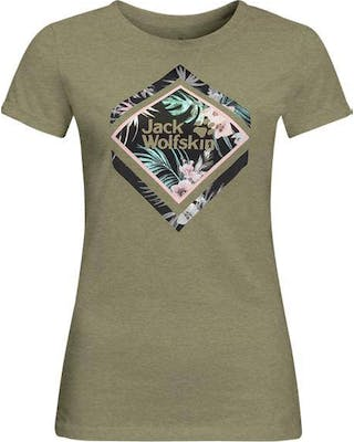 Tropical Square Tee Women