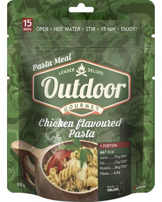 Outdoor Chicken Flavoured Pasta