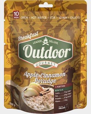 Outdoor Apple cinnamon oatmeal