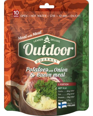 Outdoor Potato Onion Bacon