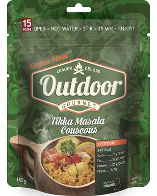 Outdoor Tikka Masala Couscous