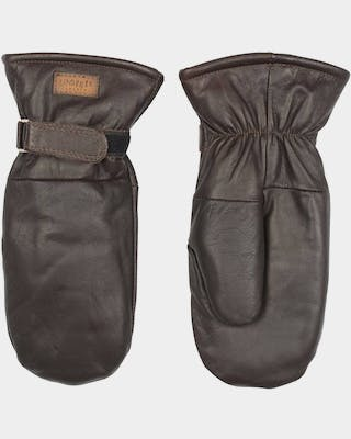 Moose Leather Mitten