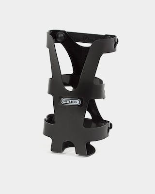 Bottle cage for bags and panniers