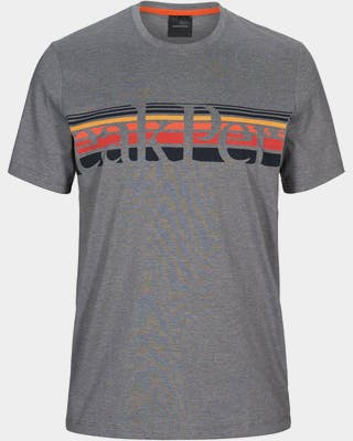 Explore Tee Stripe Print Men