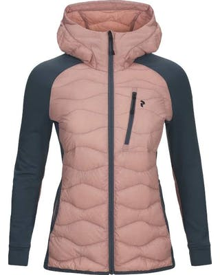 Helium Hybrid Hooded Jacket Women