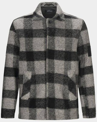 Wool Shirt Square Men